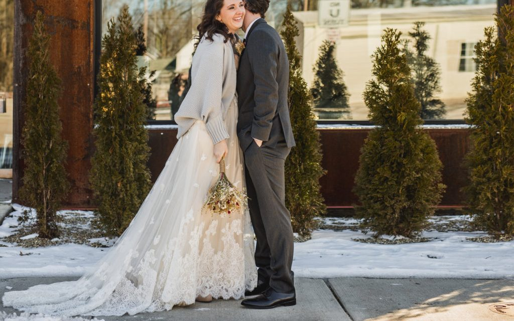 REAL WEDDING: Christine & Steve