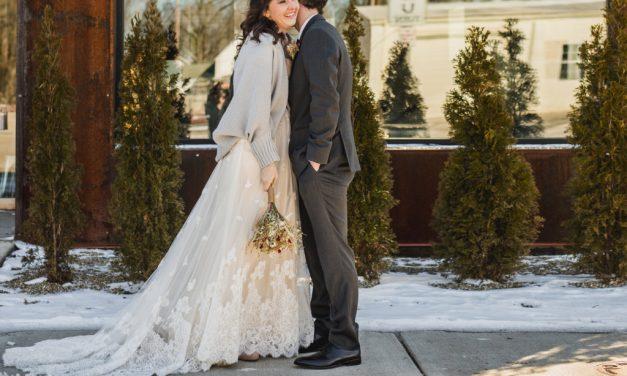 REAL WEDDING: Christine & Steve