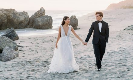 This ethereal Malibu wedding inspiration is perfect for beach brides
