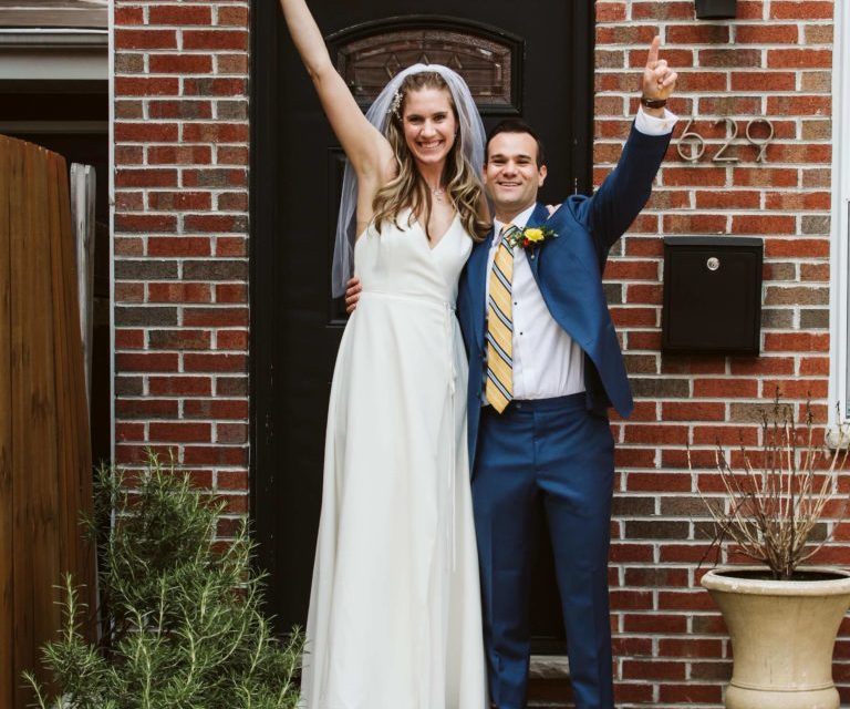 Real Wedding: Jordan and Steve