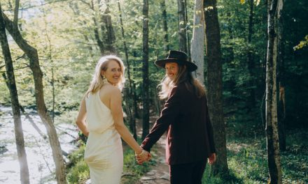 Due to Covid-19 a wedding photographer Elopes in the woods | Elopements, Real Weddings