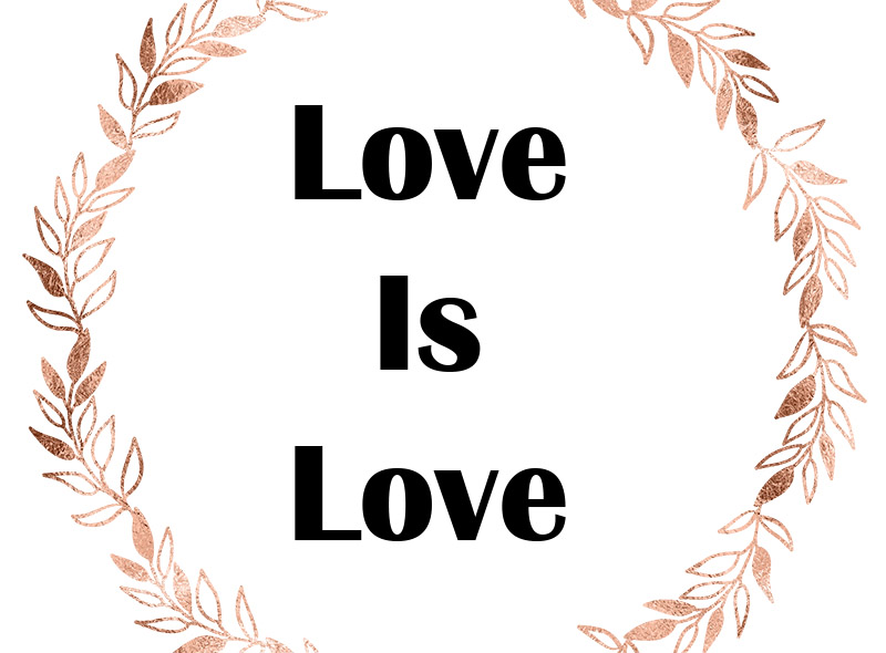 Love is Love – Perfect Wedding Guide