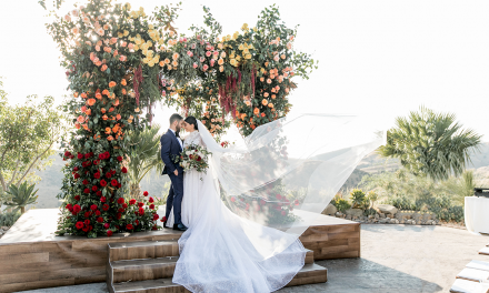 Epic Jewish wedding celebration at Hummingbird Nest Ranch in California