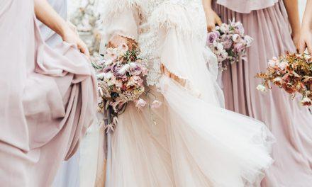Spring bridesmaids dresses | Pastel bridesmaids inspiration