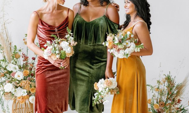Revelry Just Launched an All-Velvet Bridesmaid Dress Collection and We're SO Here for It.