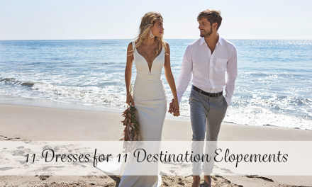 11 Wedding Dresses for 11 Destination Elopements