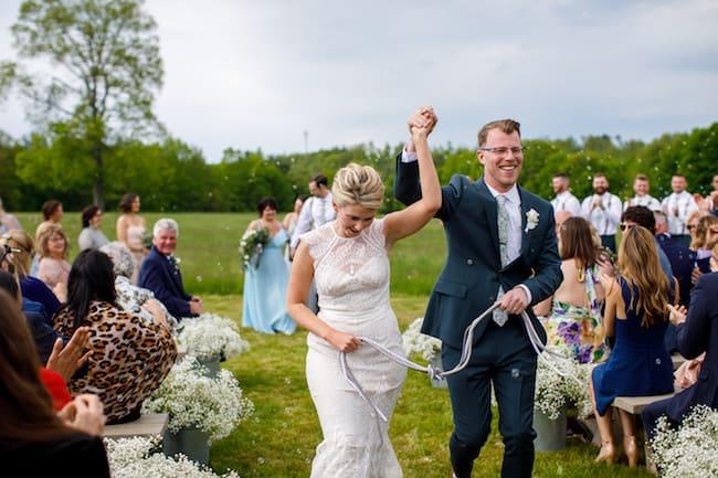 Intimate Farm Wedding in Massachusetts