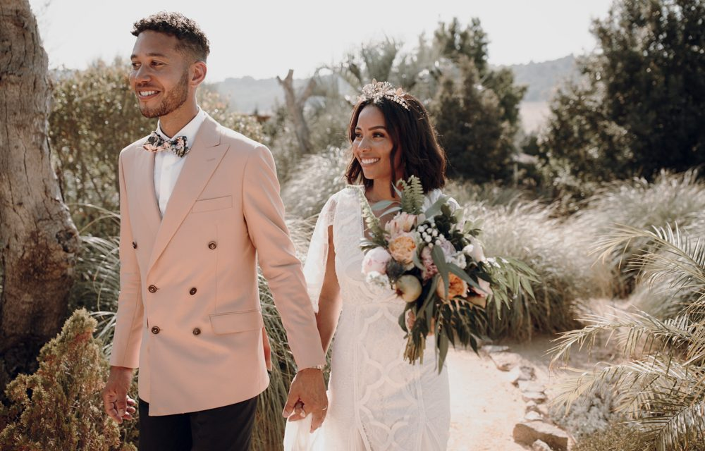 Grace Loves Lace Bridal Gown for a Boho Wedding in Spain