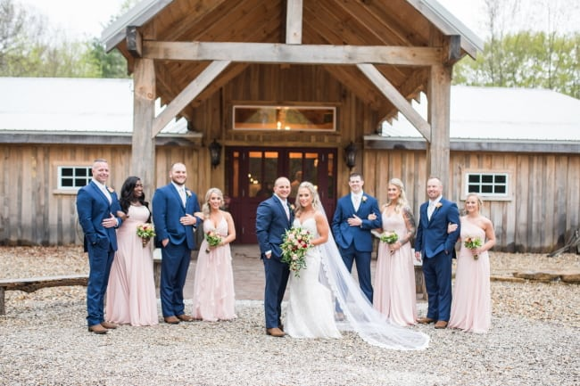 Rustic Elegant Wedding in Indiana