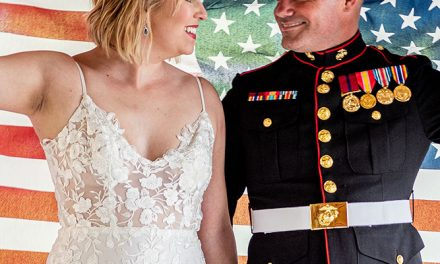 Patriotic Wedding Inspiration Shoot | BridalGuide