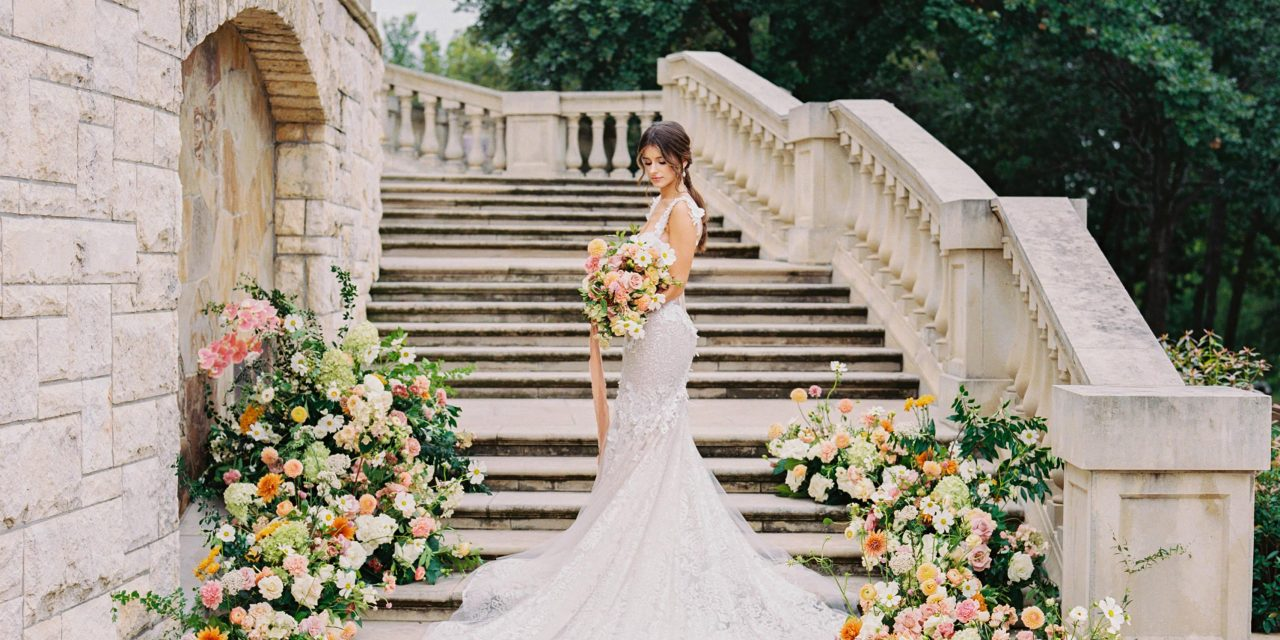 Springtime At The Olana With This Colorful and Romantic Inspiration Shoot!