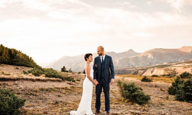 Fresh and Vibrant Garden Micro-Wedding