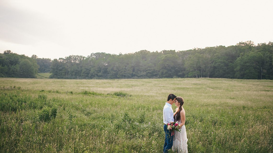 Here's how to throw a reception back home after your destination wedding