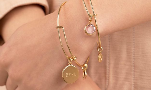 Get Personal With ALEX AND ANI's New Engrave It Collection!