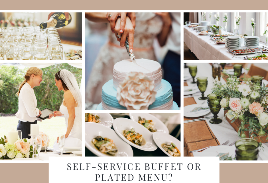 Self-service buffet or plated menu? – Perfect Wedding Guide