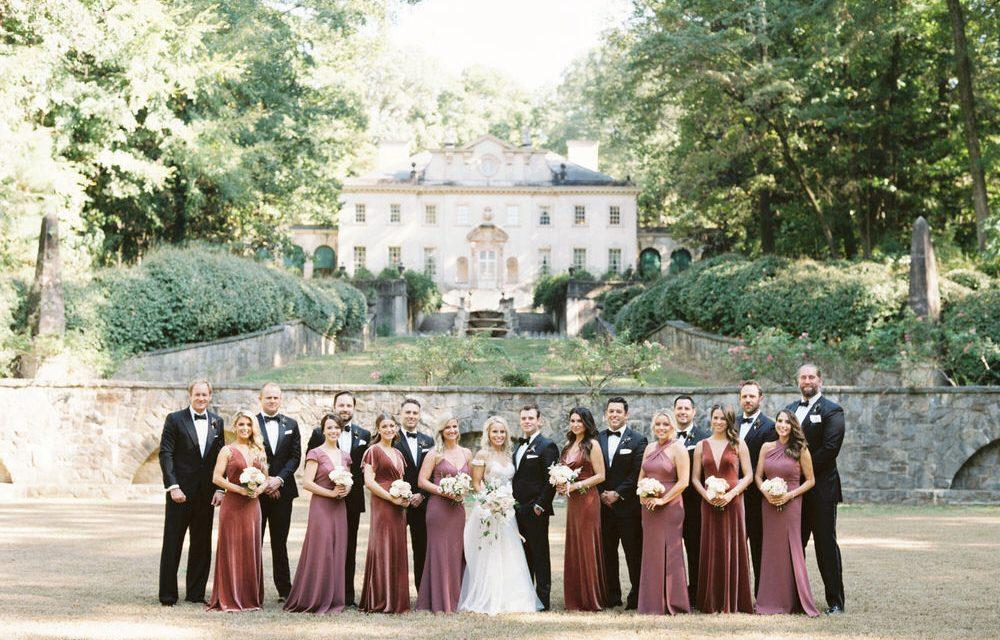 A Jazz-Age Inspired Wedding At Atlanta's Swan House ⋆ Ruffled